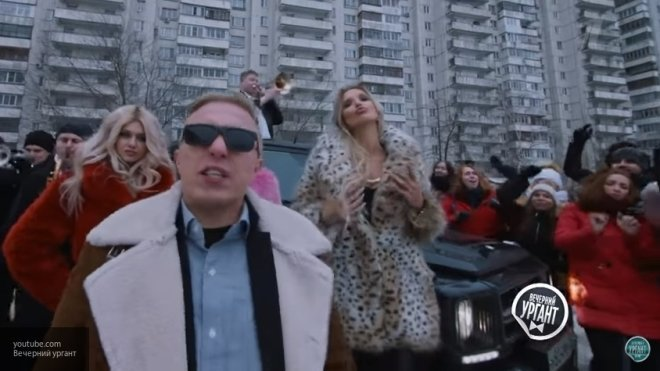Ургант и Витя АК-47 сняли пародию на рекламу «Азино три топора»