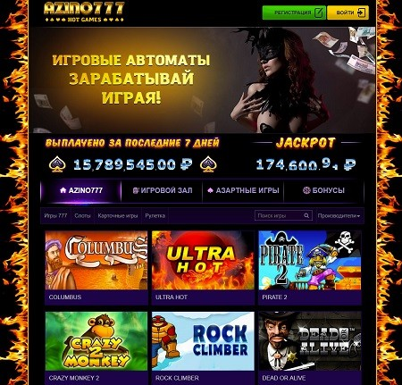 Обзор Azino777 Casino
